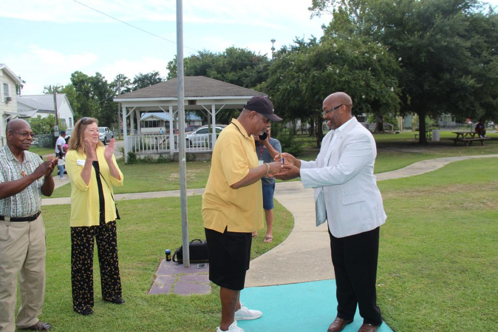 2019 Second Liners Ribbon Cutting Image 13